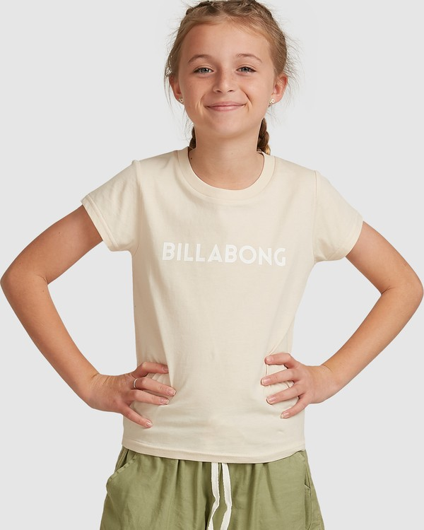 0 Dancer Short Sleeve Tee White 5517001 Billabong