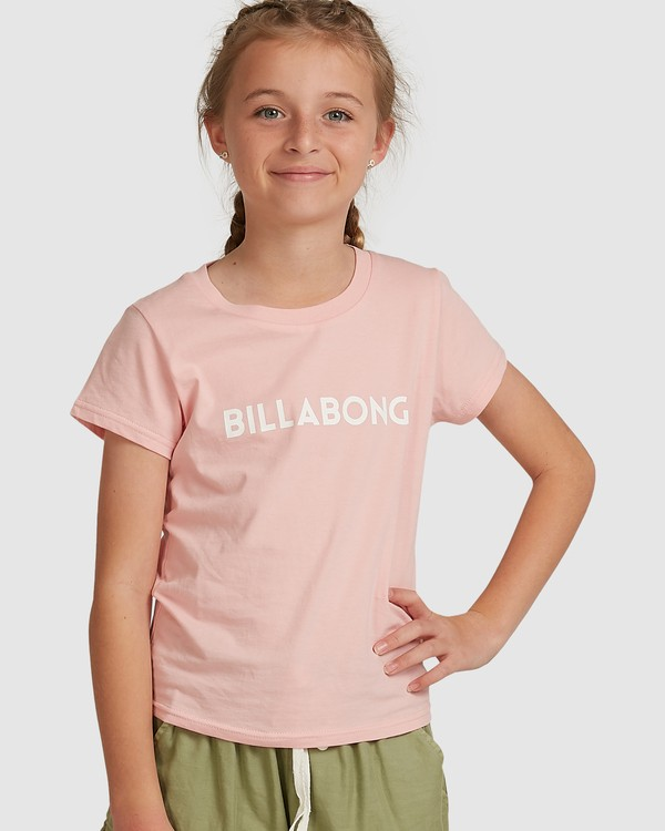 0 Dancer Short Sleeve Tee Pink 5517001 Billabong