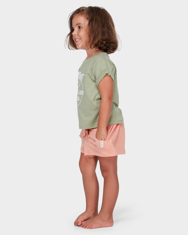 0 GIRLS EASY BREEZE TEE  5582004 Billabong