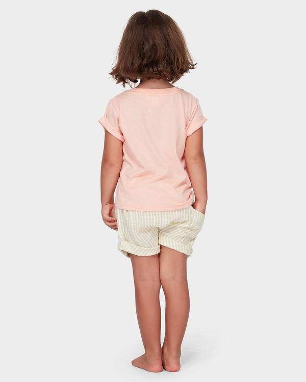 0 GIRLS EASY BREEZE TEE Orange 5582004 Billabong