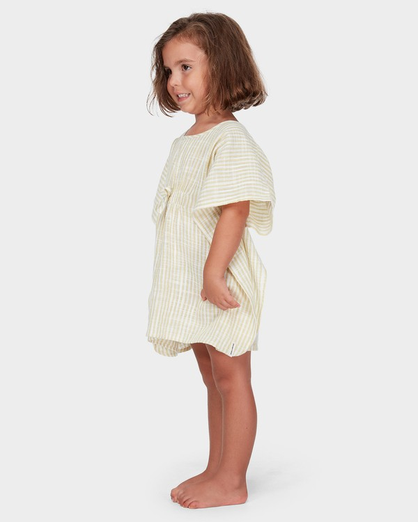 0 GIRLS SOLEIL STRIPE COVER UP Yellow 5582152 Billabong