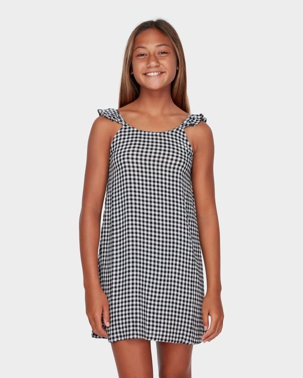 0 TEEN CHECK MATE DRESS Black 5582472 Billabong