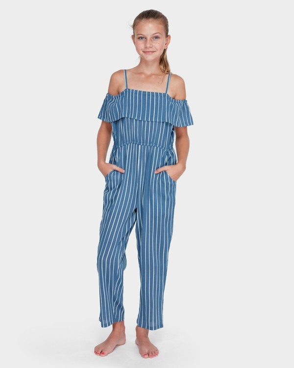0 TEEN INDIGO STRIPE JUMPSUIT Purple 5582502 Billabong