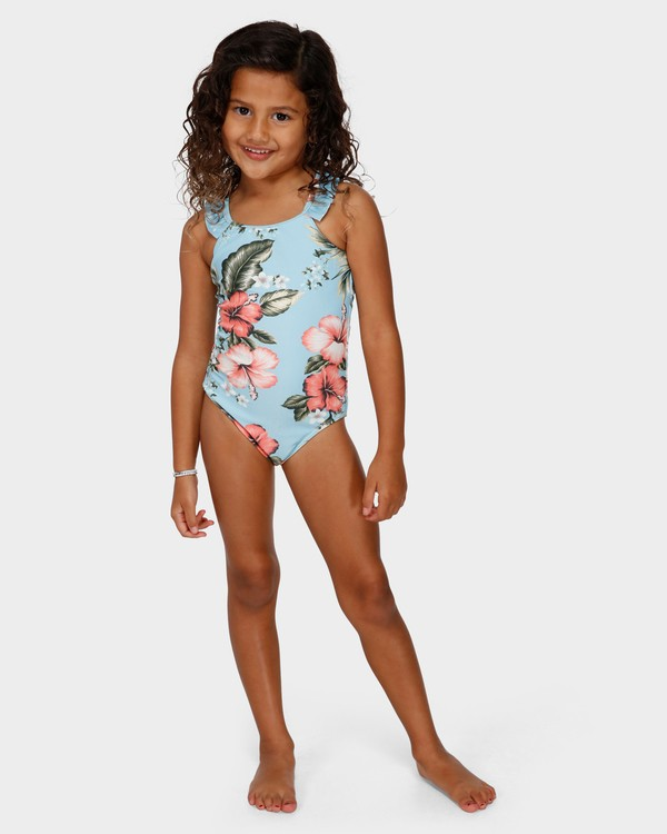 0 GIRLS SWEETHEART ONE PIECE Blue 5591561 Billabong