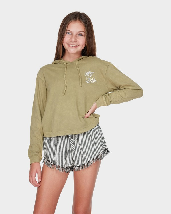 0 TEEN LOOSEN UP LONG SLEEVE TEE Green 5595071 Billabong
