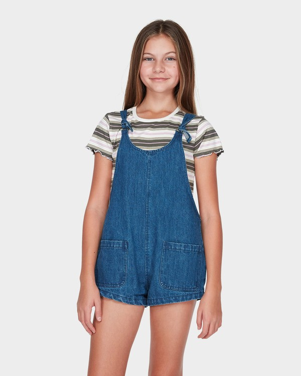 0 TEEN DARE TO DREAM PLAYSUIT Blue 5595501 Billabong