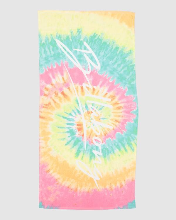 0 Tie Dye Love Towel Grey 5604722 Billabong