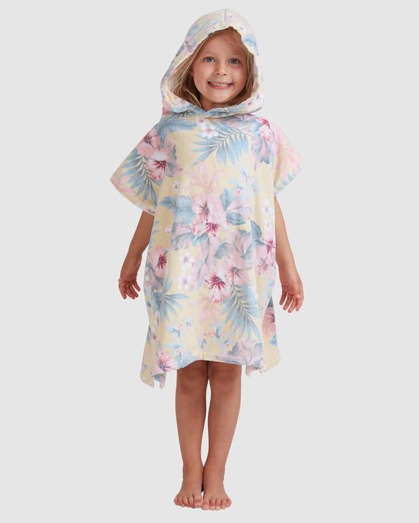 0 Girls Island Dream Hooded Towel Yellow 5613721 Billabong