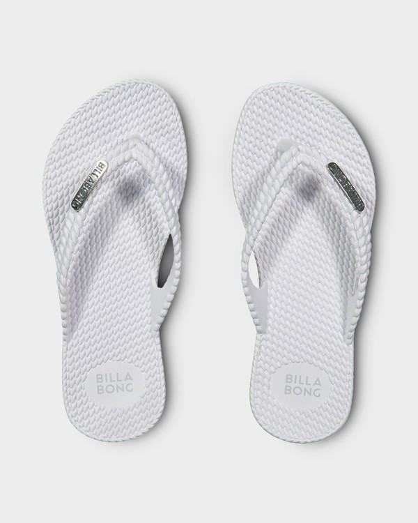 0 Kicks Thongs White 5661853 Billabong