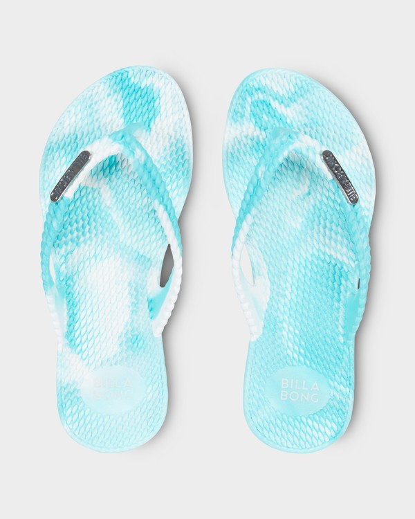 0 Kicks Marble Thongs Green 5661854 Billabong
