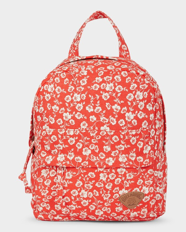 0 Poppy Floral Backpack Red 5691002 Billabong