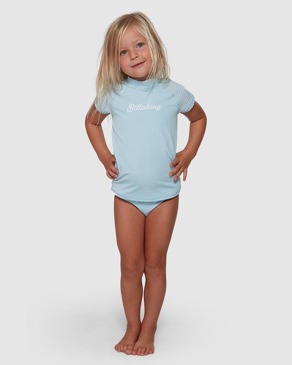 0 Surf Check Rash Vest Set Blue 5704010 Billabong