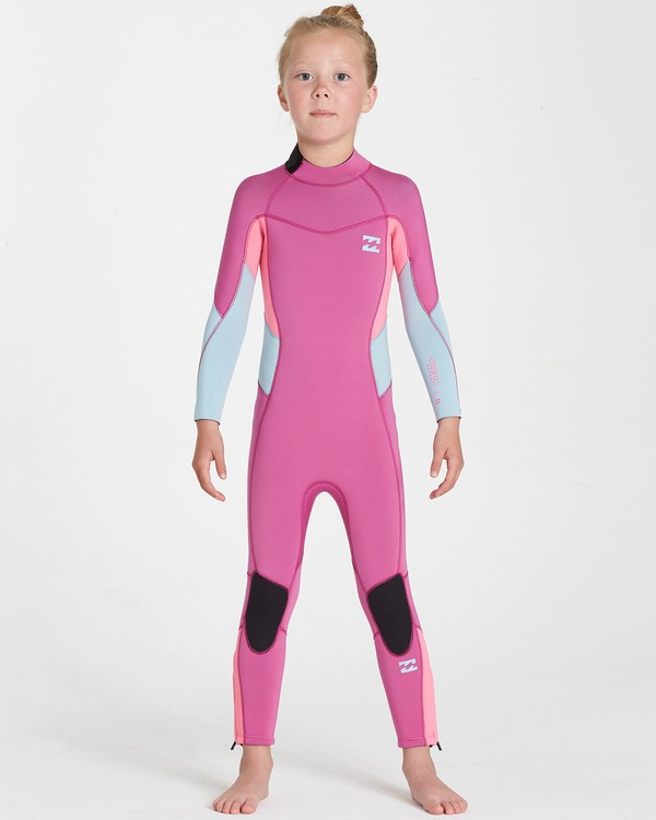 0 302 Toddler Synergy Flatlock Bz Full Pink 5707700 Billabong