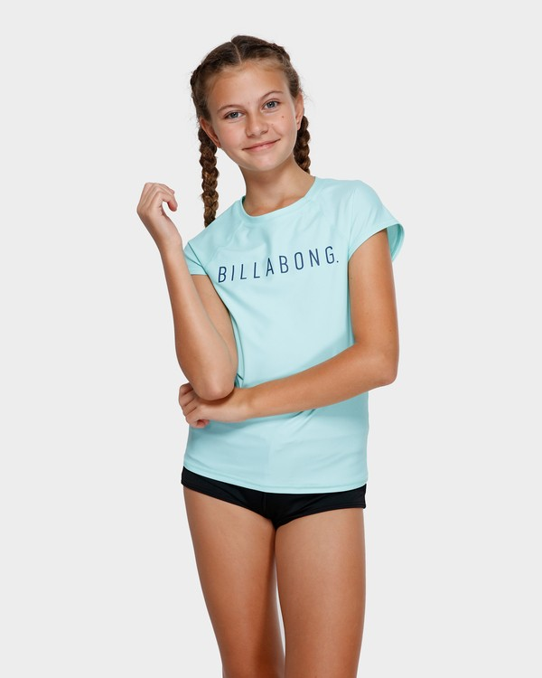 0 TEEN CAMP VIBES RASH VEST Green 5772012X Billabong