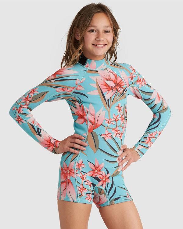 0 Teen Spring Fever 2Mm Long Sleeve Spring Blue 5792501 Billabong