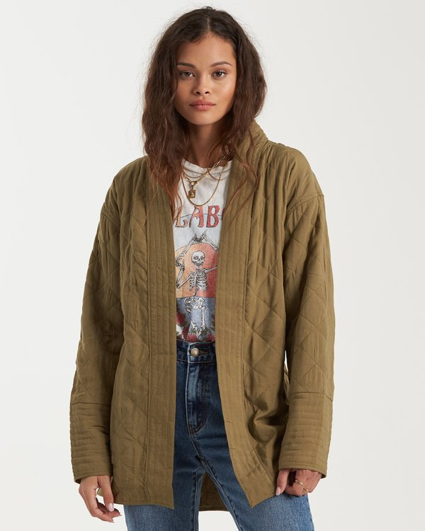 0 Piece Out Jacket Green 6503260 Billabong