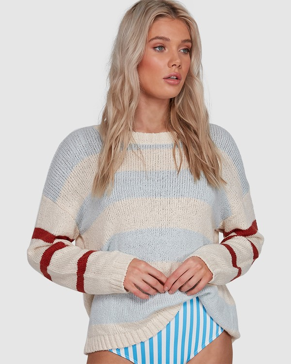 0 Lost Paradise Sweater White 6503291 Billabong