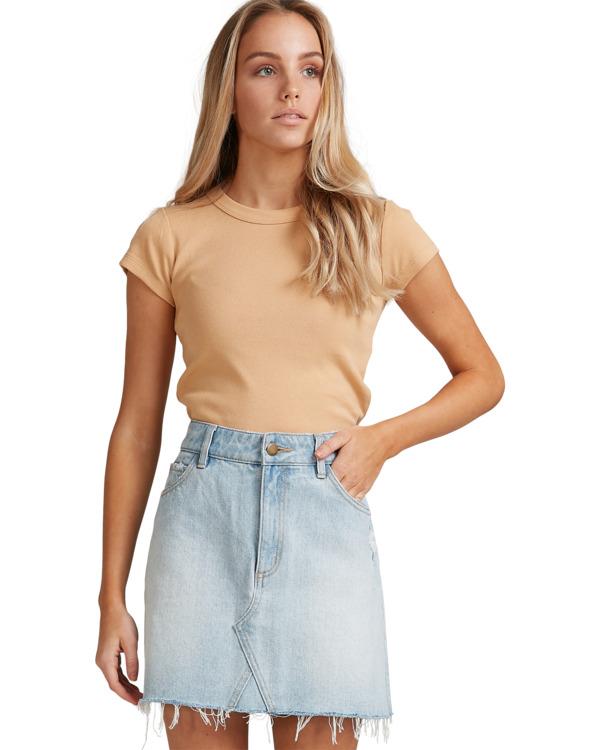 0 Charlie Skirt Blue 6503320 Billabong