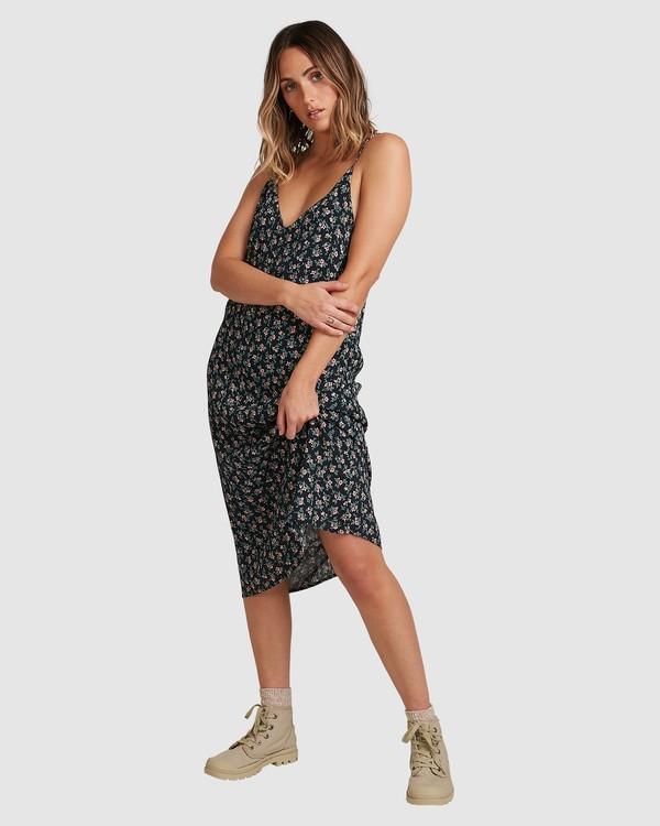 0 Bloom Midi Dress Black 6503463 Billabong