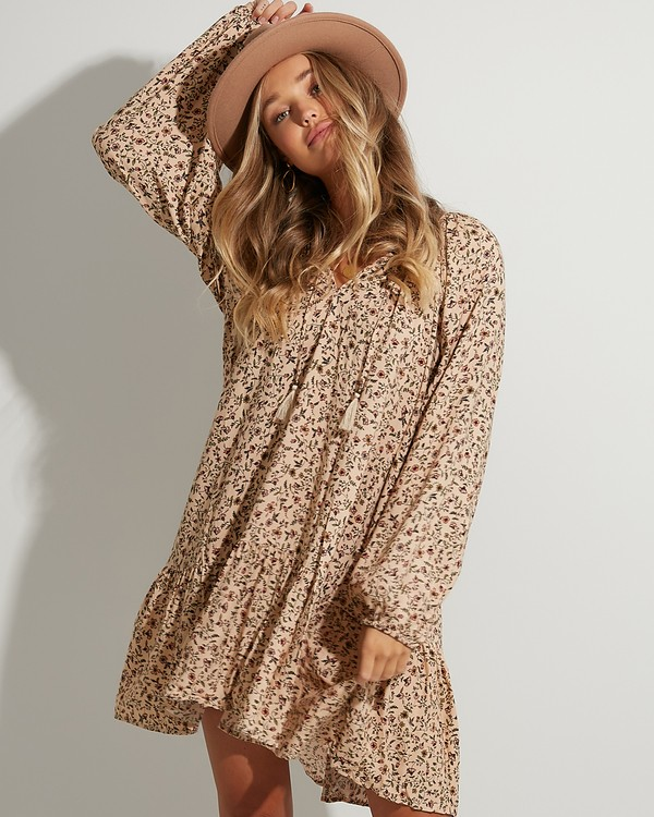 0 Charmer Dress Beige 6503467 Billabong