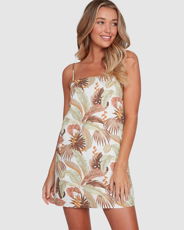 0 El Tropical Sunset Dress White 6503472 Billabong