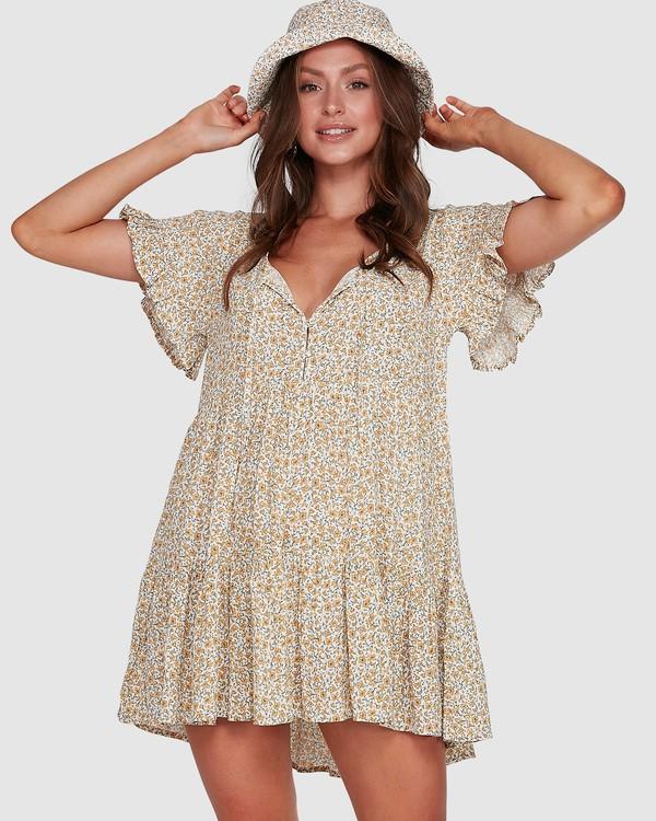 0 Summer Dress Beige 6503474 Billabong