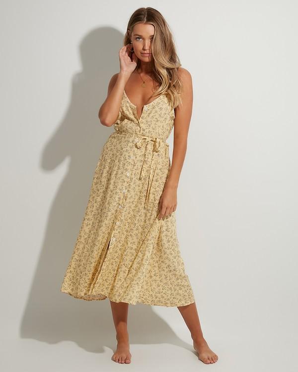 0 Just Be Here Dress Yellow 6503476 Billabong