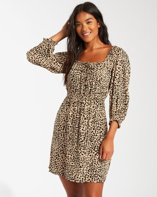 0 Riviera Dress Brown 6503481 Billabong