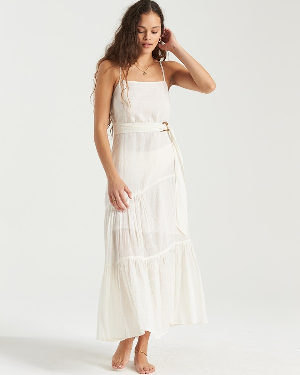 0 Island Spirit Dress White 6503483 Billabong