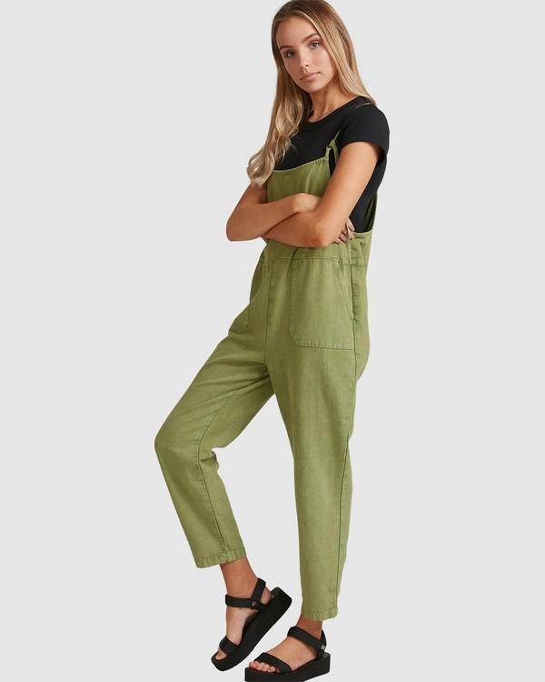 0 Pepper Jumpsuit Green 6503522 Billabong