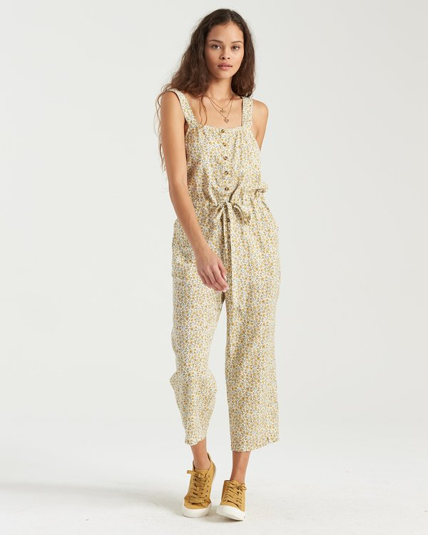 0 Sandy Shores Jumpsuit Grey 6503538 Billabong