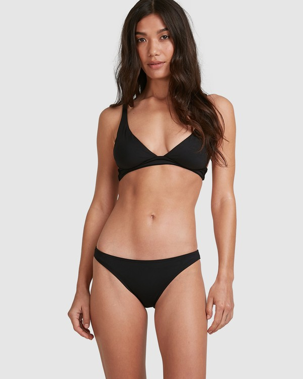 0 Sol Searcher Elongated Tri Bikini Top Black 6503704 Billabong