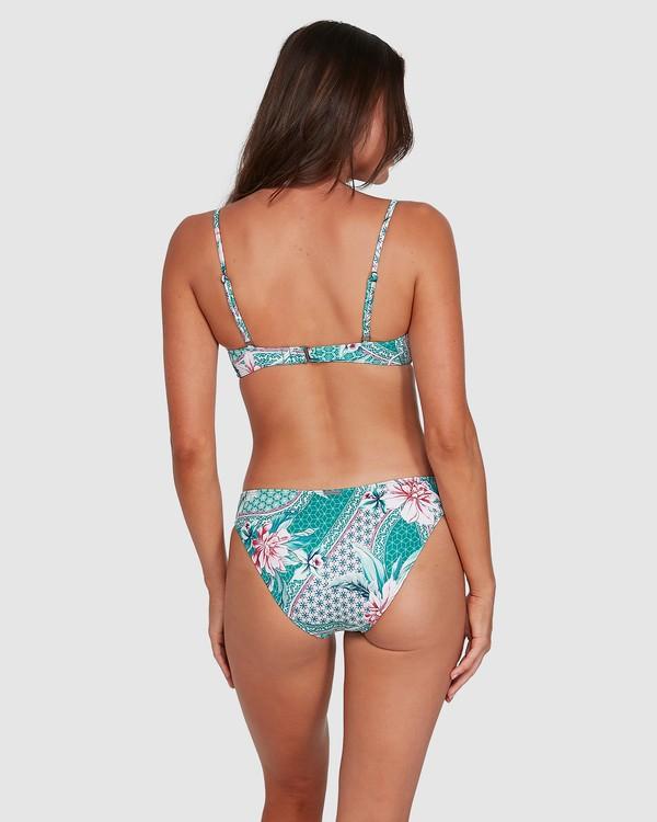 0 Secret Garden Lowrider Bikini Bottoms Green 6503727 Billabong
