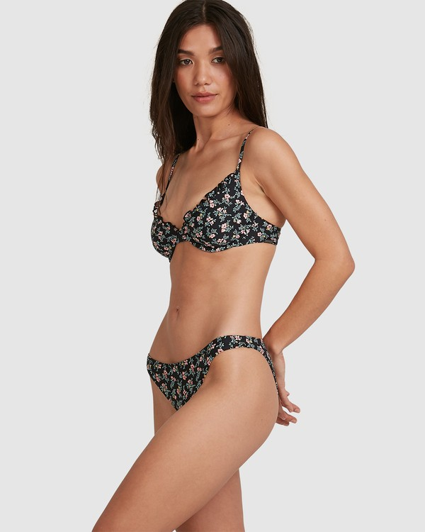 0 Bloom Frilled Bra Bikini Top Black 6503729 Billabong