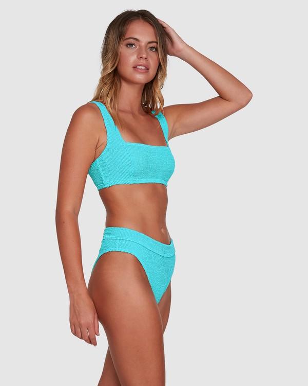 0 Summer High Square D/DD Bralette Bikini Top Blue 6503740 Billabong
