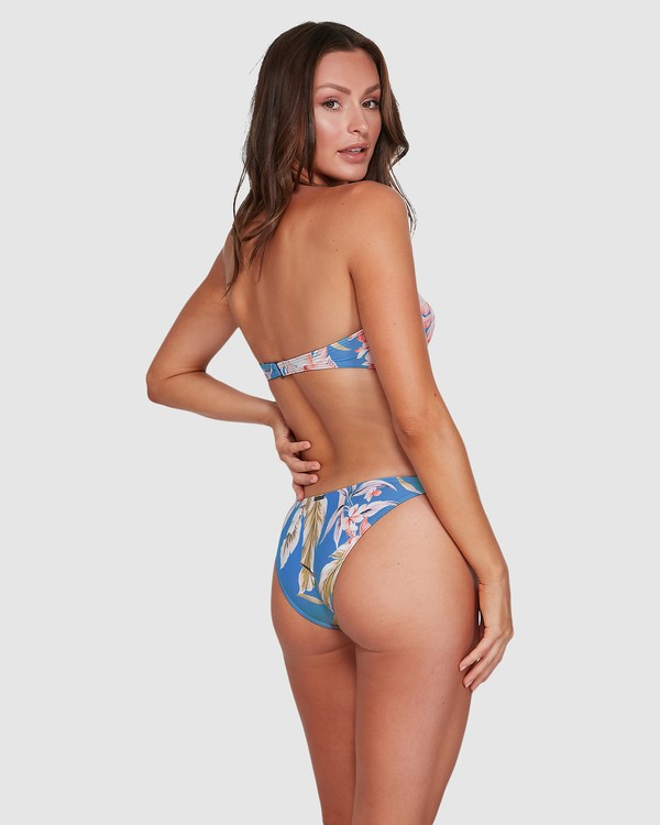 0 Samaya Tropic Bikini Bottoms Blue 6503767 Billabong