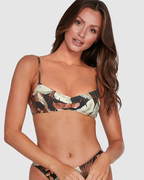 0 Tropicale Gigi Bralette Bikini Top Black 6503797 Billabong