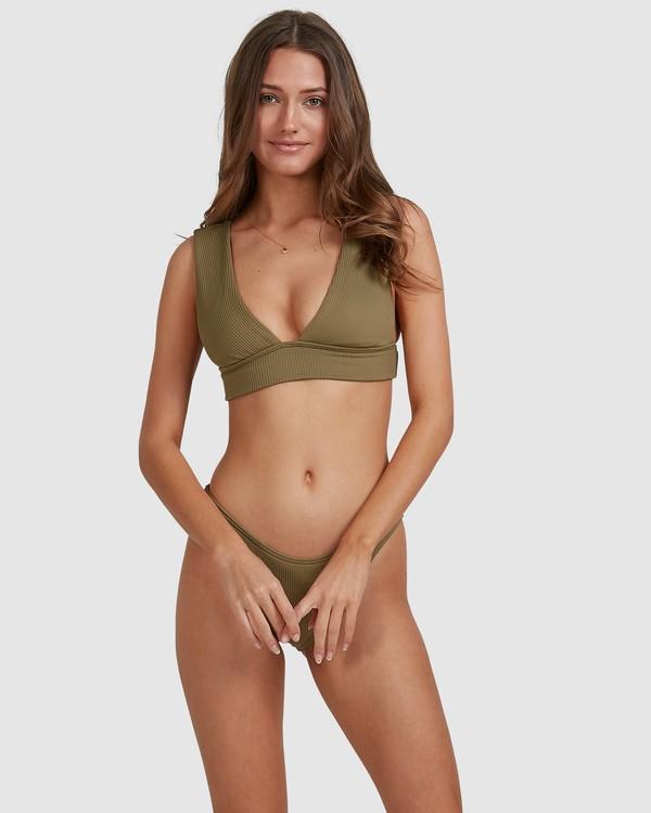 0 Sand Dunes Plunge Bikini Top Green 6503865 Billabong