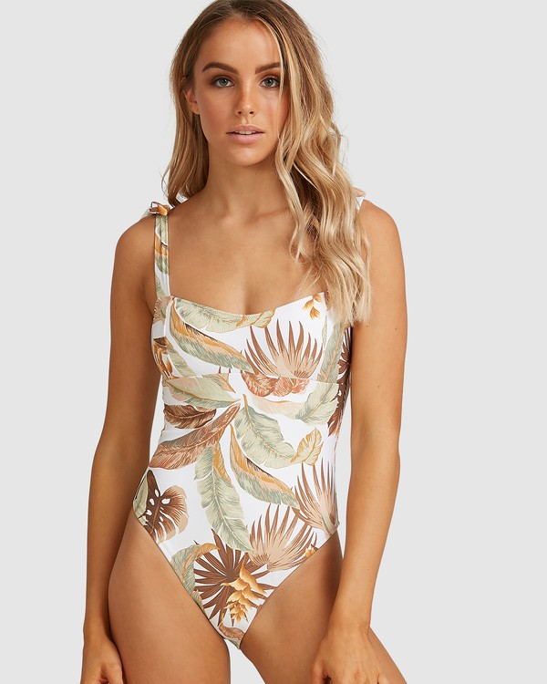 0 Tropicale One Piece White 6503950 Billabong
