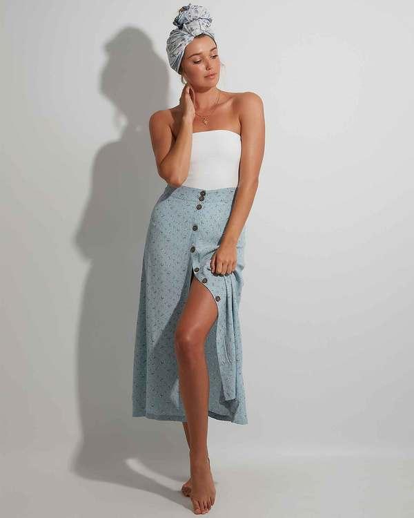 0 Sea Mist Skirt Blue 6504318 Billabong