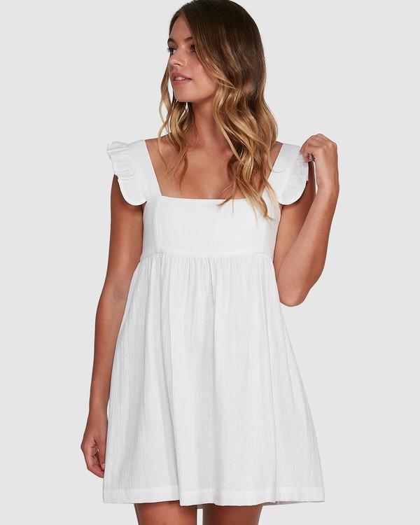 0 Frenchie Dress White 6504471 Billabong