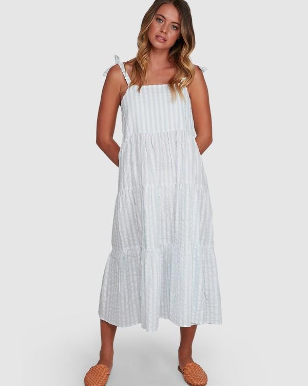 0 Seaspray Maxi Dress Blue 6504480 Billabong