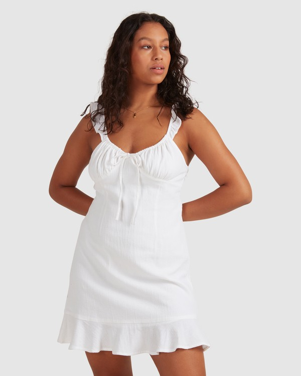 0 Beach Bliss Dress - Steph Claire Smith White 6504508 Billabong