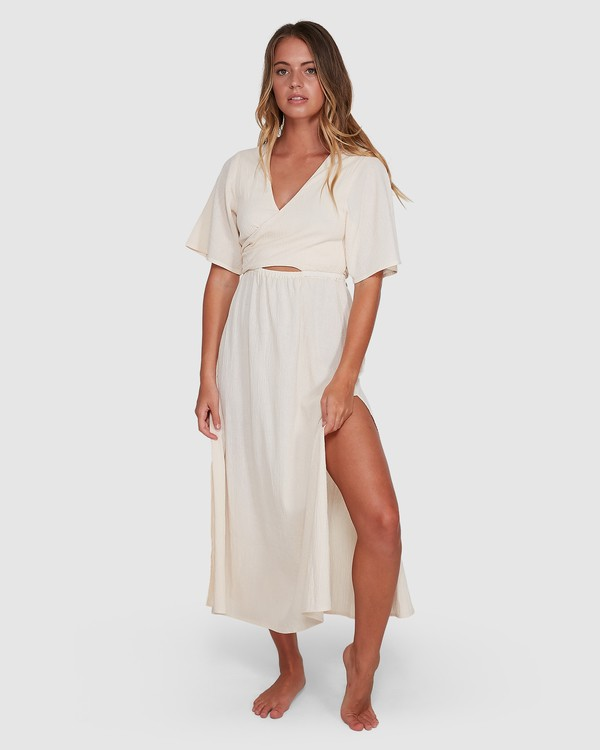 0 Cook Island Dress White 6504621 Billabong