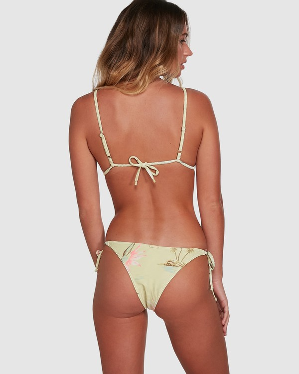 0 Maui Babe Tie Side Isla Bikini Bottoms Yellow 6504795 Billabong