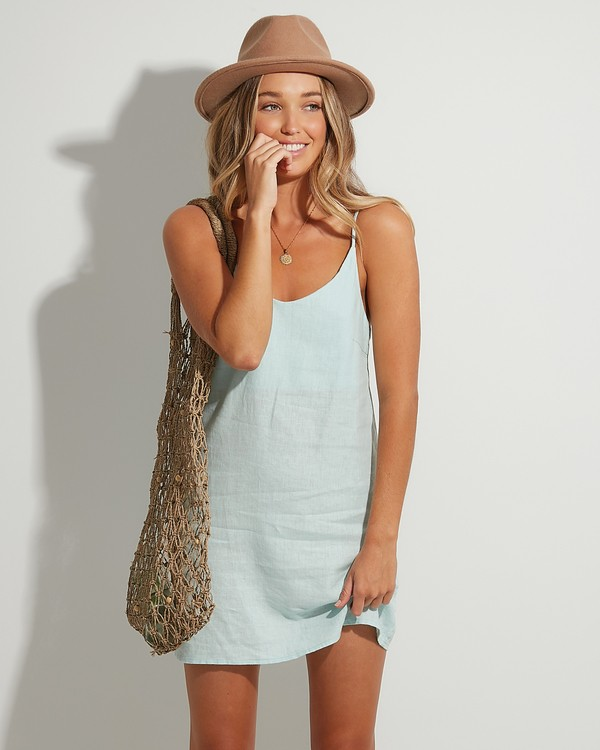 0 Summer Love Dress Green 6507470 Billabong