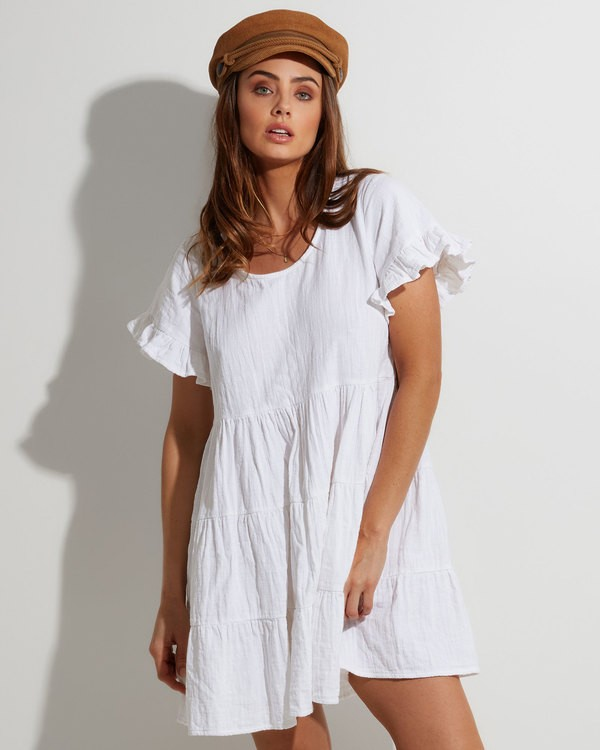 0 Pixie Dress White 6507474 Billabong