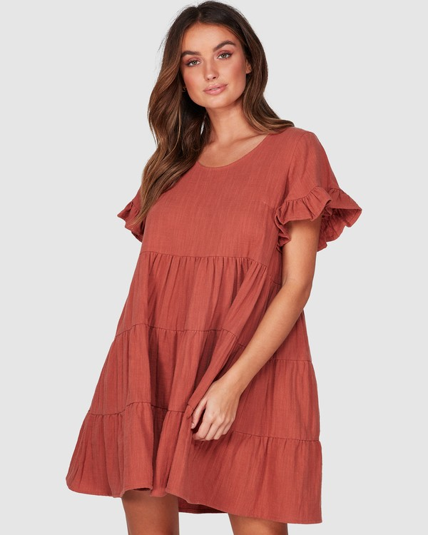 0 Pixie Dress Brown 6507474 Billabong