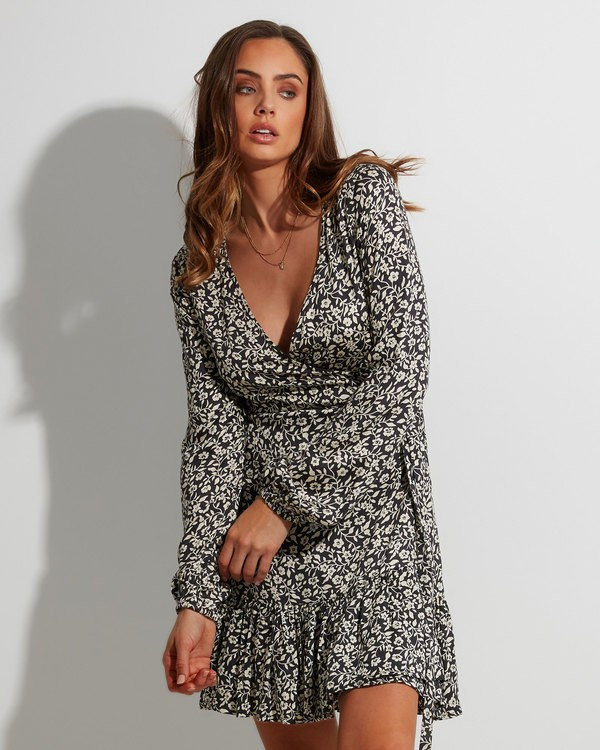 0 Chantal Wrap Dress  6507482 Billabong
