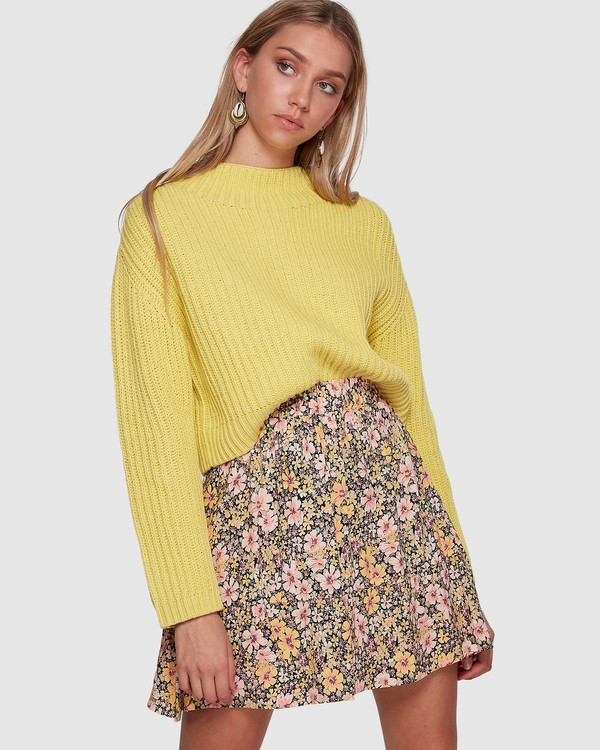 0 Lola Serena Skirt Black 6507525 Billabong